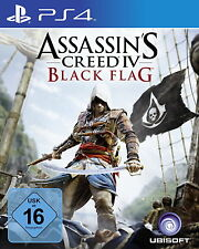 Assassin's Creed IV: Black Flag (Sony PlayStation 4, 2015) NEU OVP