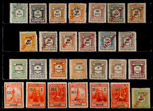 PORTUGUESE GUINEA, PORTUGAL: CLASSIC ERA STAMP COLLECTION POSTAGE DUES, TAX