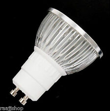 GU10 MR16 4W 6W WARM WHITE COOL WHITE LED ENERGY SAVING BULB LAMP MULTI BUY DISC