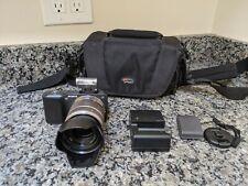Sony Alpha NEX-3 16.1MP Mirrorless Digital Camera w/SEL1855 Lens and Bag