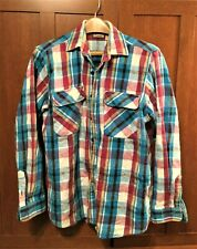 Five Brother Men's Large Long Sleeve Shirt - Vintage 1990s (100% Cotton)