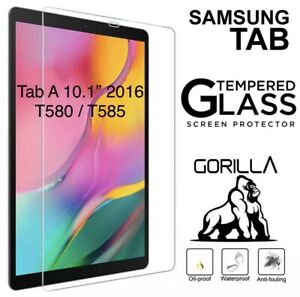 Tempered Glass Screen Protector For Samsung Galaxy Tab A 10.1 2016 SM T580 T585