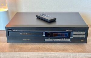 Nakamichi MB-4s 7disc MusicBank Audiophile CD Player w/Remote Japan - Serviced!