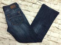 Mavi Womens Boot Cut Denim Jeans Sz 26 x 28.5 Medium Wash Cotton Polyester Blend