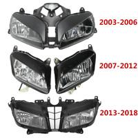 Front Headlight Assembly For Honda CBR600RR 600RR 2003-2006 2007-2012 2013-2018