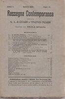 G. A. Cesarò RASSEGNA CONTEMPORANEA PUBBLICAZIONE MENSILE MARZO 1909 L5531