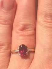 1.61ct Umbalite & Diamond 10ct Gold Ring Size L/M BNWT Extremely Limited Edition