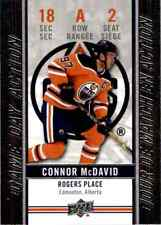 2018-19 Upper Deck Tim Hortons Game Day Action Connor McDavid #GDA-2