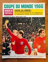 MIROIR DU FOOTBALL n° 84 SPÉCIAL COUPE DU MONDE ENGLAND 1966 TOUS LES MATCHES