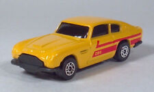"Corgi Aston Martin DB6 Yellow With Red Stripes 2.75"" Die Cast Scale Model"