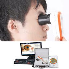 new 5.0 MP USB Iriscope Iris Analyzer Iridology Camera 3D + Software+ box+manual