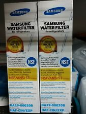 Samsung DA29-00020B HAF-CIN/EXP Refrigerator Water Filter 2 Filters GENUINE