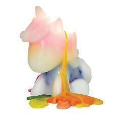 Unicorn Candle Melting White & Rainbow Multi Coloured Girls Party Birthday Gift