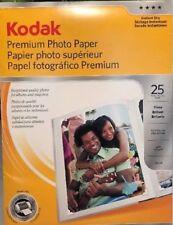 Kodak Premium Photo Paper 8.5x11in-Gloss 25 Sheets instant dry