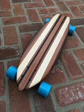 "Skateboard made of Solid Wood - ""Lanikai"" classic look"