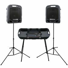Peavey ESCORT 3000 Portable Powered Active Speaker Digital Mixer Package 300 W