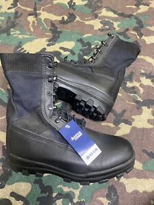 UKSF ISSUE BATES VIBRAM BOOTS BLACK MCT UK SIZE 9 JUNGLE BOOT SBS SAS RM NEW