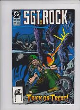 SGT ROCK #19 VF/NM, Batman & Sgt Rock team appearance, Kubert cover, Heath art