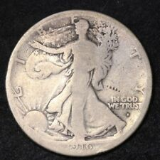 1916-S Walking Liberty Half Dollar CHOICE G FREE SHIPPING E320 AEB