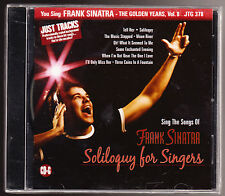 YOU SING FRANK SINATRA - THE GOLDEN YEARS VOL 8 - 9 BACKGROUND TRACKS - NEW CD