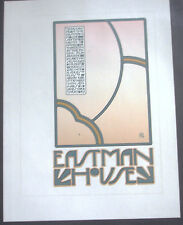 """GOINES, David Lance """"Eastman House""""(small poster) pink"""