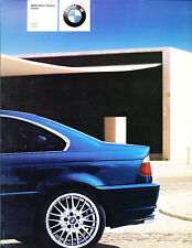 2003 BMW 325Ci 330Ci Coupe Sales Brochure Book