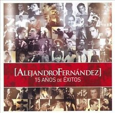 15 Años de Exitos Alejandro Fernández Music-Good Condition