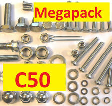 Honda C50 -  Nut / Bolt / Screw Stainless MegaPack
