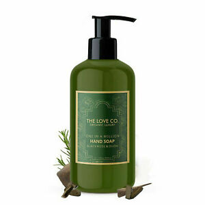 The Love Co. Organic One In A Million Black Rose & Oudh Hand Soap 300 ml