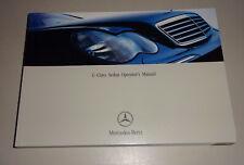 Owner´s Manual Mercedes-Benz C-Class W 203 C 230 Kompressor - C 32 AMG from 2003