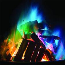 Mystical Magic Tricks Fire Coloured Flames Bonfire Sachets Fireplace Color OF