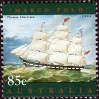 SAILING SHIP = MARCO POLO =stamp fr JOINT SS Canada - AUSTRALIA 1999 #1631a