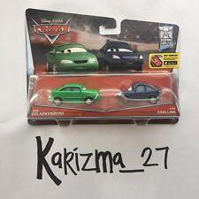 Disney Pixar Cars Piston Cup Dan Sclarkenberg 13/14 & Kim Carllins 14/14