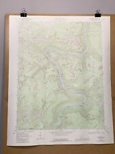 Thurmond West Virginia Fayette County Map New River Gorge Topographical Survey