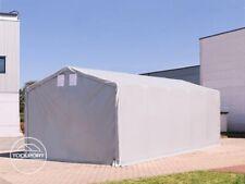 Lagerzelt 3x6-8x16m Zelthalle Industriezelt stabil Garage - durchgehende Plane!