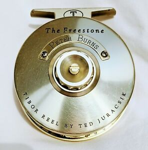"""Tibor Signature Series """"The Freestone"""" Fly Reel by Ted Juracsik with extra spool"""