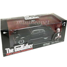 GREENLIGHT 86507 THE GODFATHER 1941 LINCOLN CONTINENTAL 1/43 BLACK Chase