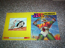 ALBUM figurine JEEG ROBOT PANINI 1979 COMPLETO MB/OTTIMO TIPO MANGA TV DISNEY