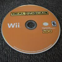Deal or No Deal - Nintendo Wii - Video Game - Game Show - Howie Mandell - Disc