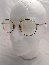 NEOSTYLE Academic 2 gold metal red tortoise round rare eyeglasses frames