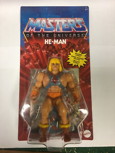 Masters of the Universe Origins Wave 1:  He-man Action Figure