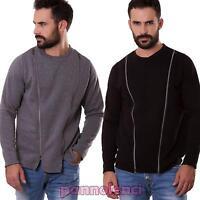 Pullover uomo felpa maglione girocollo TOOCOOL maniche lunghe maglia nuovo U728
