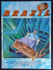 Brazil 1985•Terry Gilliam•De Niro•Original French Movie Poster 16x21 Mint