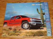 Original 2007 Chevrolet Colorado Deluxe Sales Brochure 07 Chevy