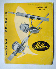 RARE VINTAGE MILBRO TRADE FISHING ADVERTISING CATALOGUE FOR 1959