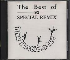 "BEN LIEBRAND - RARO CD 1993 "" THE ANTIDOTE ! THE BEST OF 92 SPECIAL REMIX """