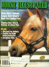 1989 Horse Illustrated Magazine: Best Shoes for Equine Feet/Fight Flies/Diets