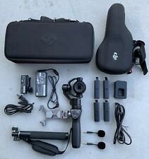 Dji Osmo Handheld 4k Camera and 3-Axis Gimbal With Extras