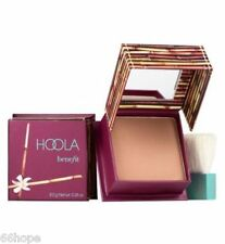 Benefit Cosmetics Hoola Box O' Powder Compact With Brush Full Size 0.28oz / 8g