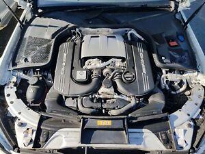2017 MERCEDES W205 C63 S AMG 4.0 V8 TWIN TURBO PETROL ENGINE (BARE) (M177.980)